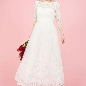 Chi Chi London ModCloth Wedding Dress Size 8